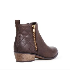 JustFab Vanora Ankle Boots
